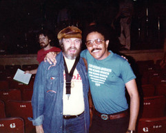 With Phil Woods, July 1981