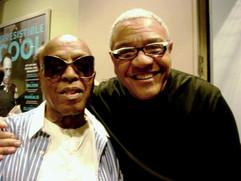 Ignacio with Roy Haynes