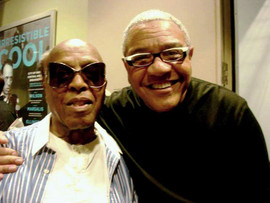 Ignacio with Roy Haynes