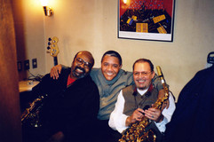 With James Mooddy and Jackie McLean