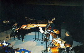 Ignacio playing with Chick Corea and Chr