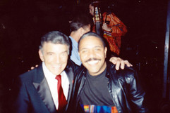 With Louie Bellson, August 1991