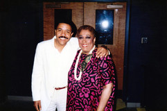 With Carmen Mcrae, 1988