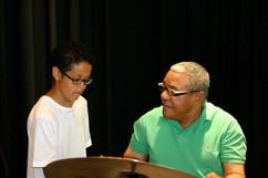 Ignacio with student