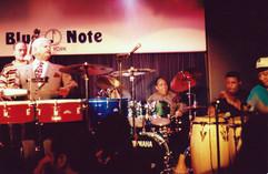 Con Tito Puente en Blue Note