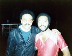 With Tony Williams, Philadelphia, June 1