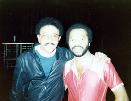 With Tony Williams, Philadelphia, June 1