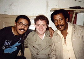 With Jack Bruce and Mario Rivera