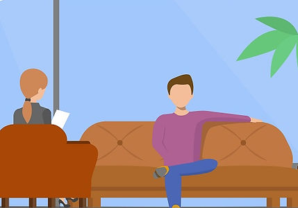 Counselling Session, illustration
