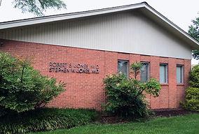 Front of Jones Family Practice building