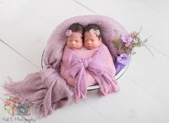 Twin newborn session Cypress, Tx