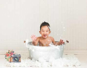 Houston Bubble Bath Photographer