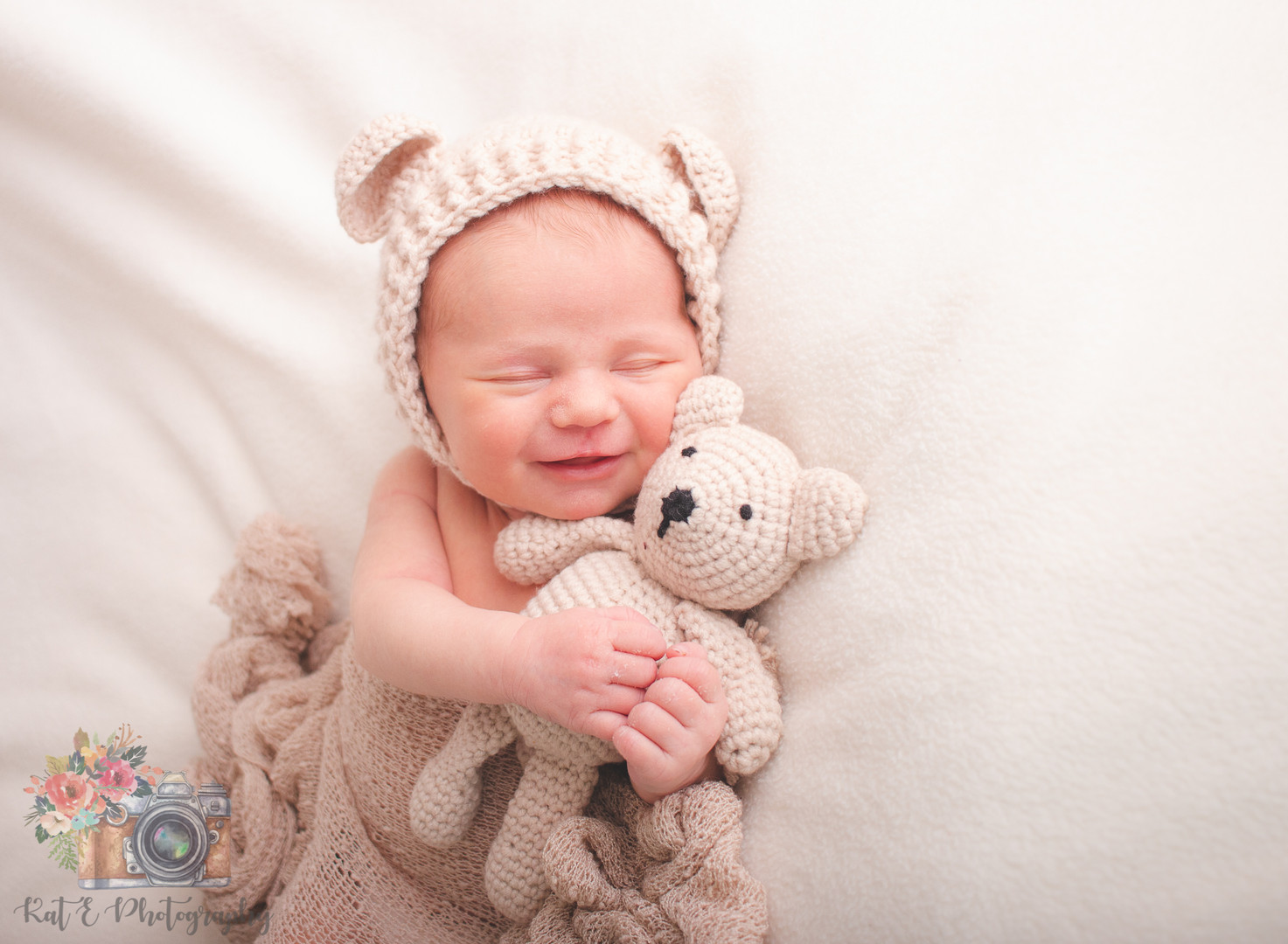 in studio newborn session