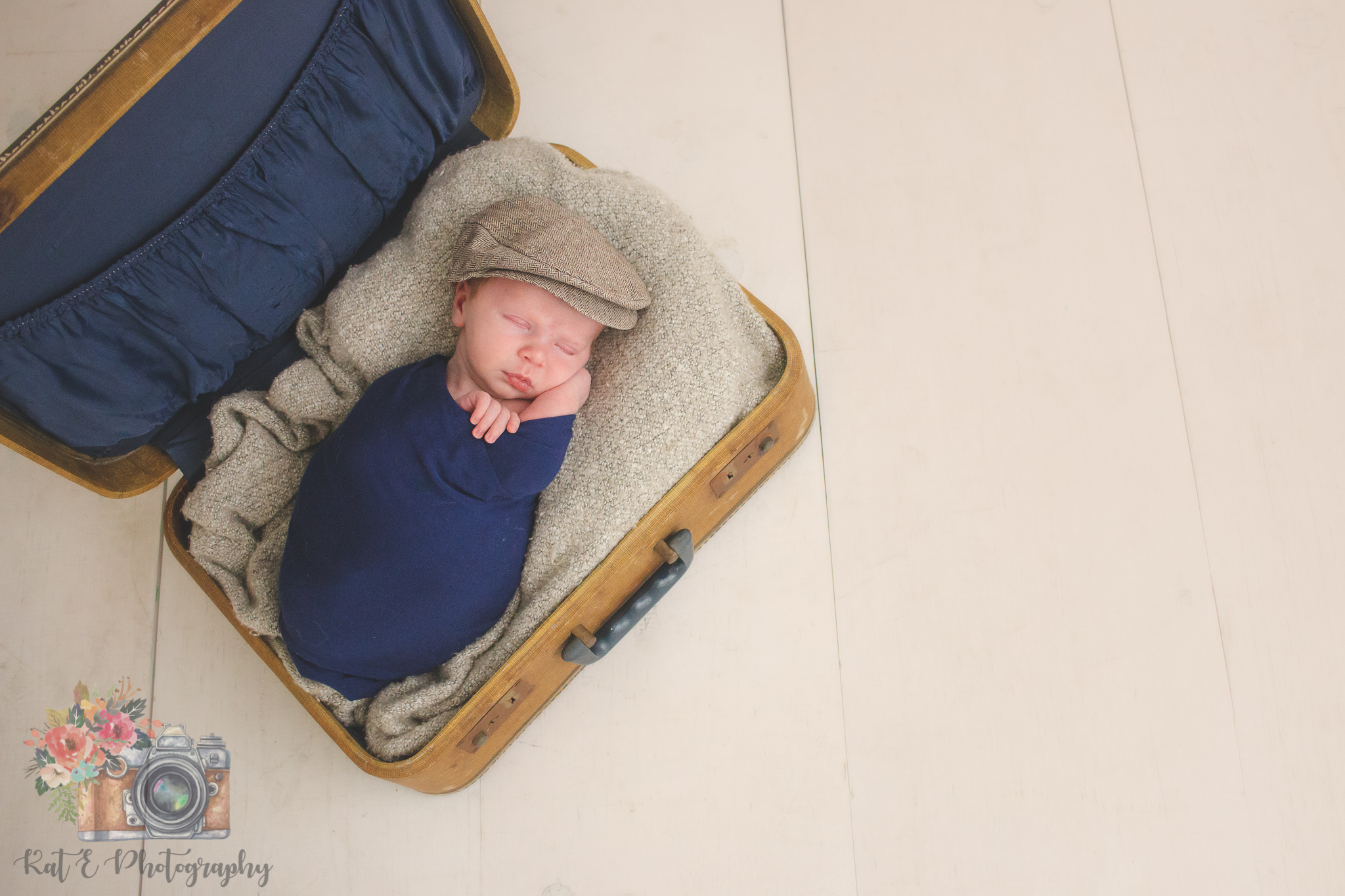Mini Vintage Suitcase