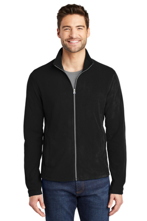 MEN's Light Weight Fleece Jacket with embroidered Logo