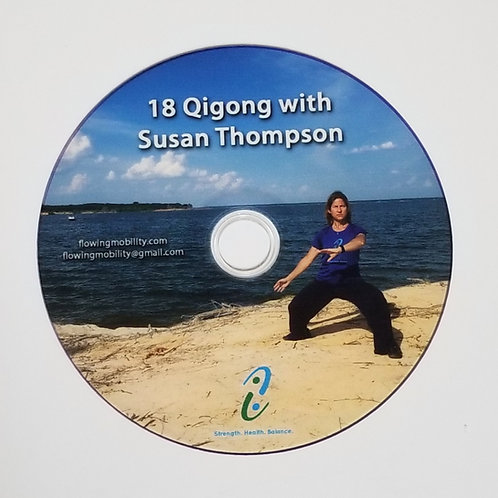 DVD 18 Easy Qigong with Susan