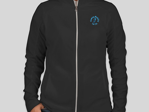 Ladies Light Weight Fleece Jacket with embroidered Logo