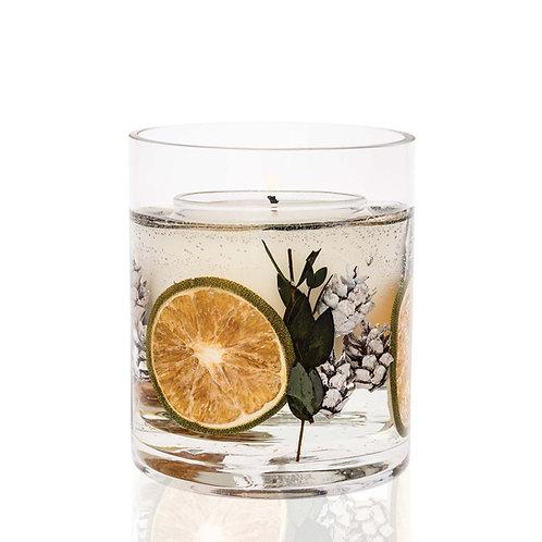 Eucalyptus & Lime Natural Wax Gel Vase
