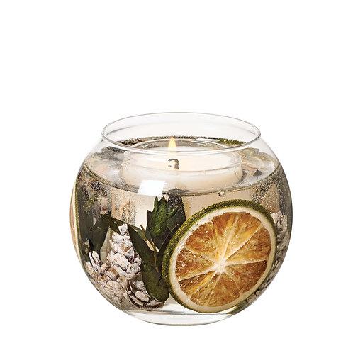 Eucalyptus & Lime Natural Wax Gel Fishbowl