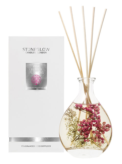Pink Pepper Flowers Reed Diffuser