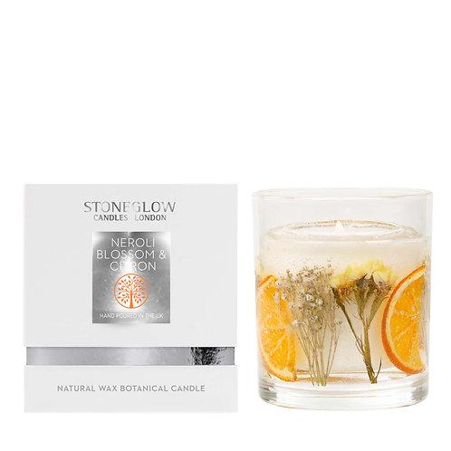 Neroli Blossom & Citron Wax Gel Candle
