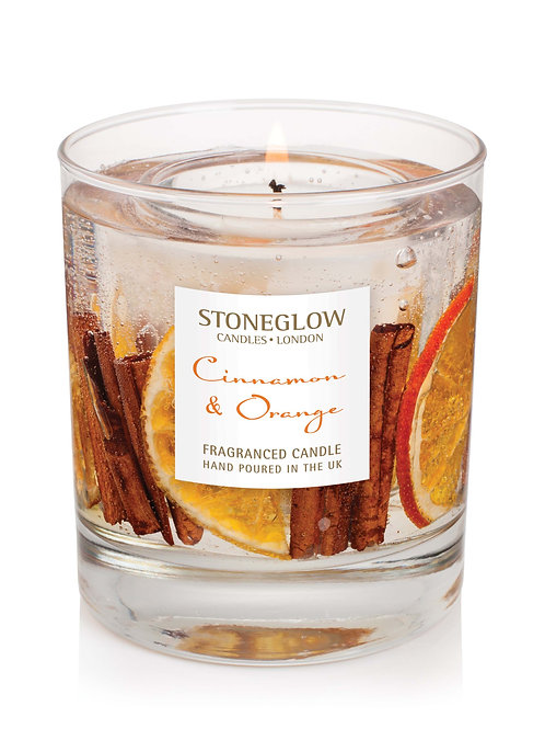 Cinnamon & Orange Natural Wax Gel Tumbler