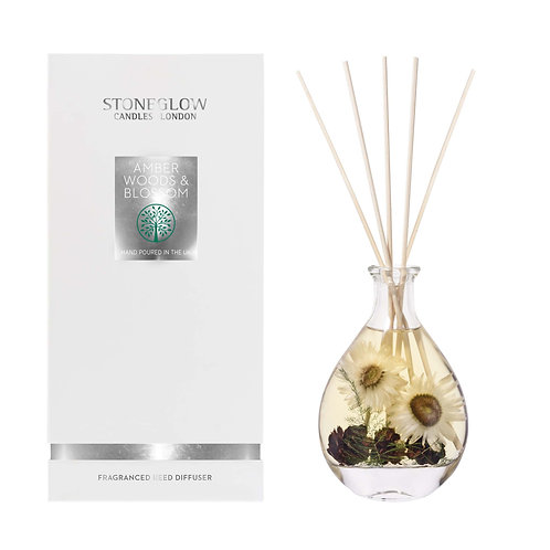 Amber Woods & Blossom Reed Diffuser