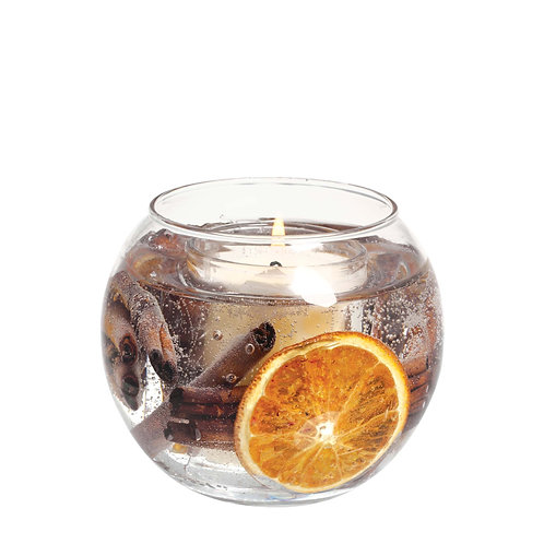 Cinnamon & Orange Natural Wax Gel Fishbowl