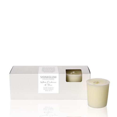 White Cashmere & Pear Refill Candles