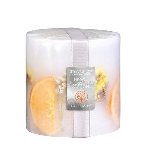 Neroli Blossom & Citron Pillar Candle