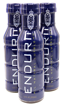 ENDURII LUXBLEND - All Natural Drink - Case of 3_12oz bottles