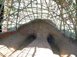 Der Töpferofen der Tripolje-Kultur hat eine neue Kuppel