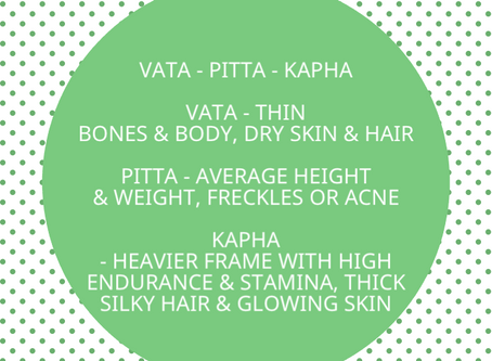 Your Nature: Vata, Pitta, Kapha explained in detail