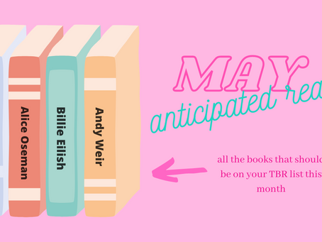 May Anticipated Reads: Wait! That Person Wrote a Book?