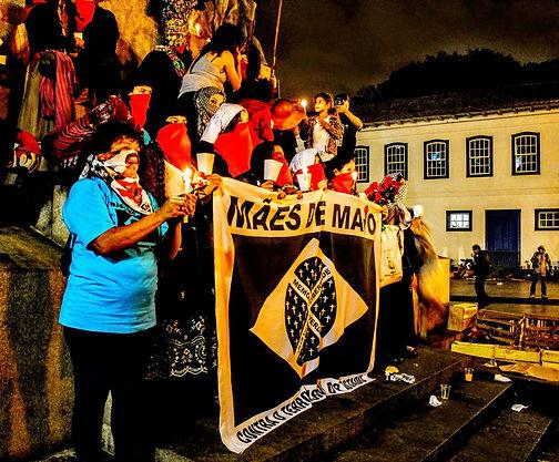 San Paolo. Manifestazione delle Madri di Maggio nel 10° anniversario dei Crimini di Maggio