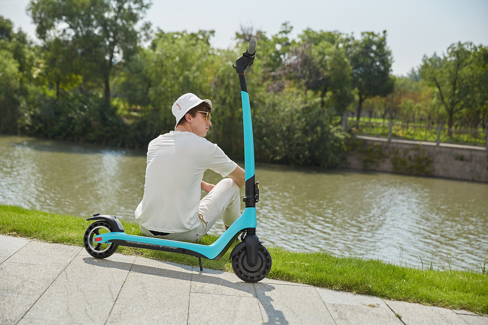 Joyor Electric Scooter A3 blue