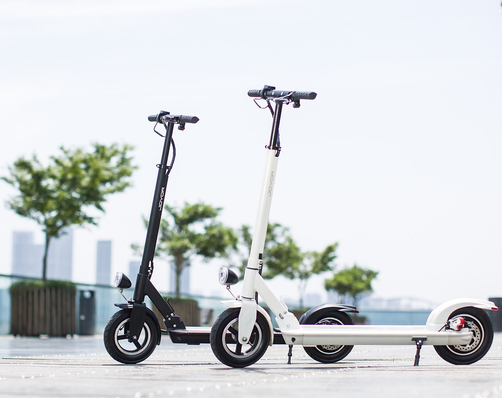Patinete eléctrico Joyor serie X; Joyor electric scooter X serie