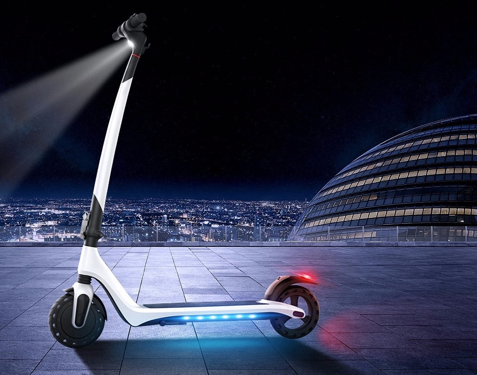 Joyor Electric Scooter A3 lights
