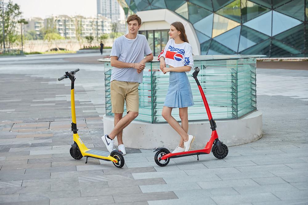Patinete eléctrico serie A, Joyor Scooter A Serie