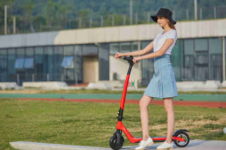 Joyor Electric Scooter A3 red
