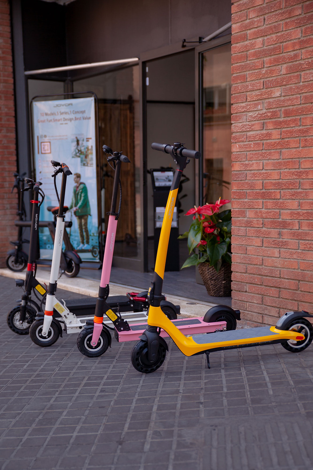 Joyor electric scooter models