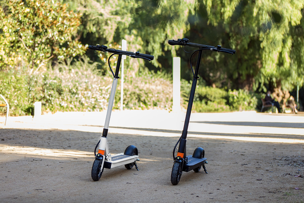 Joyor electric scooter F series black and white