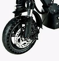 Scooter Elétrica Joyor G pneu dianteiro