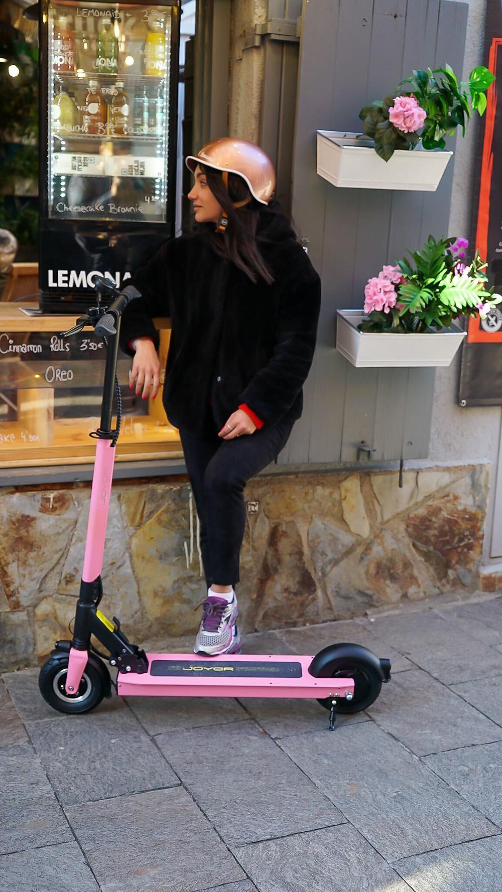 Joyor Electric Scooter F3 pink