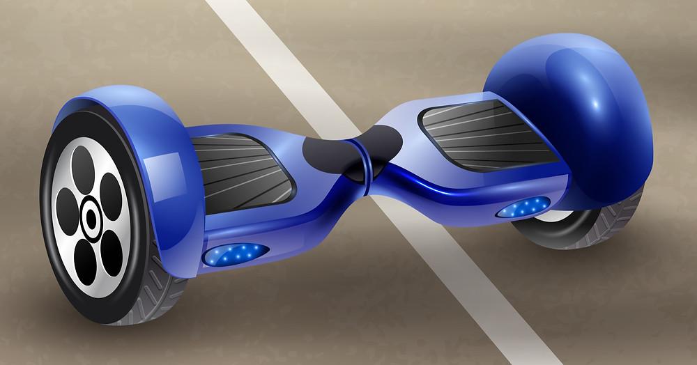 Patinetes eléctricos vs. Hoverboards