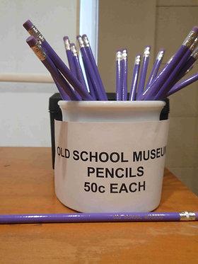 Old School Museum pencils