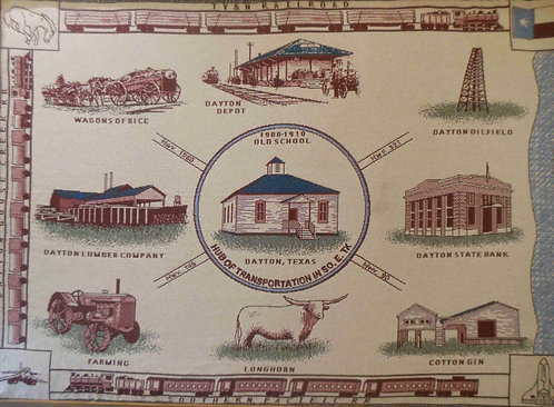 Dayton Historical Society Throw