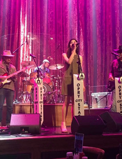 With Gunsmoke at Opry City Stage