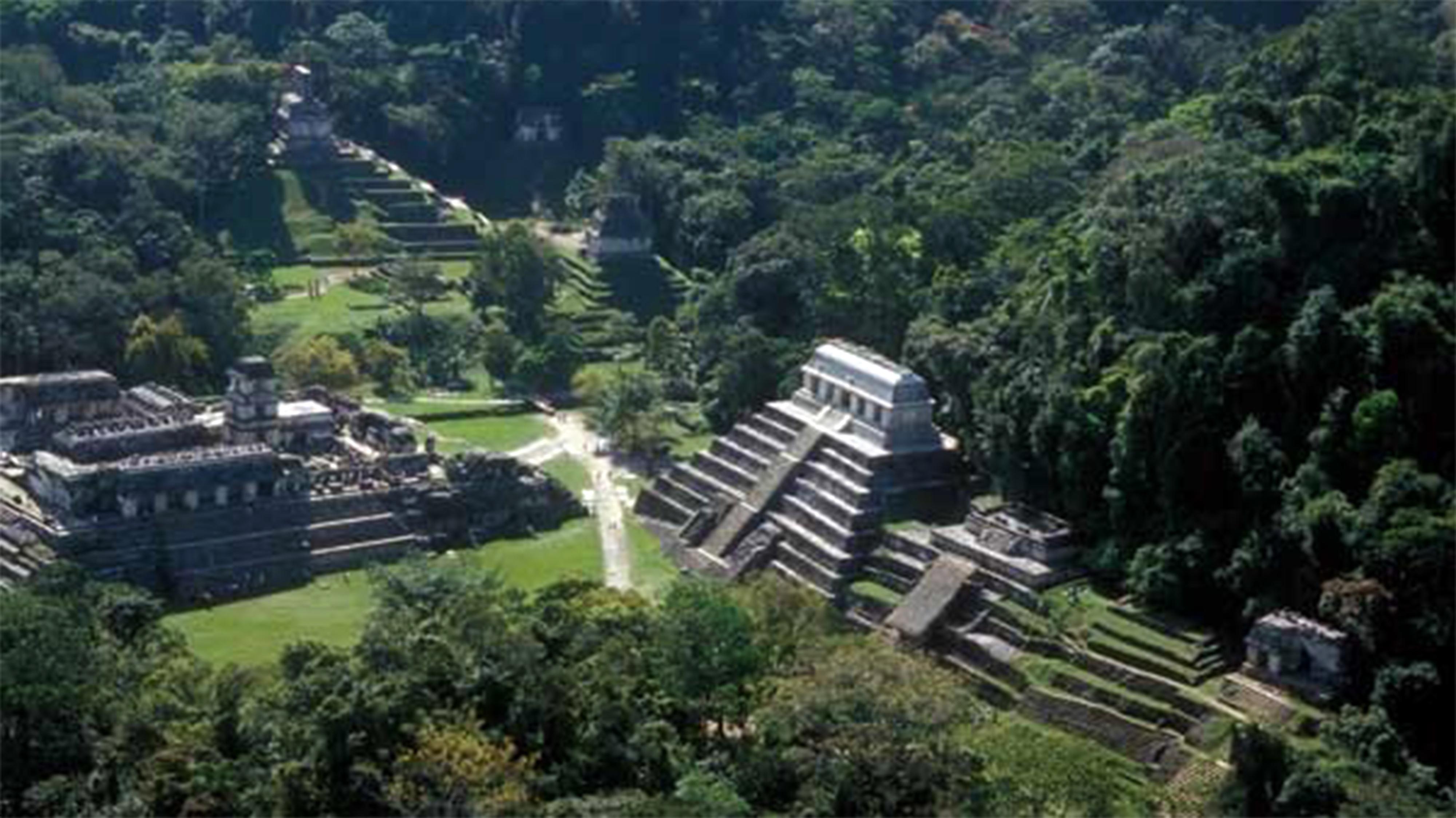 Palenque. Zona arqueológica