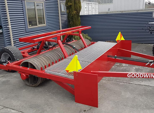 Arrival of The GOODWIN LEVELLER ROLLER
